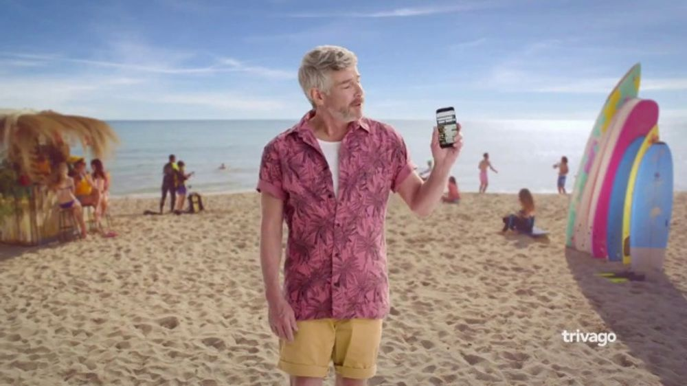 trivago TV Commercial, 'Ideal Beach and Hotel'