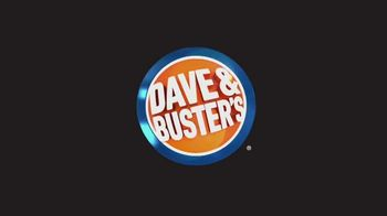Dave and Buster's Eat and Play Combo TV Spot, 'All Day, Any Day'