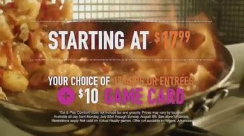 Dave and Buster's Eat and Play Combo TV Spot, 'All Day, Any Day' - Thumbnail 3