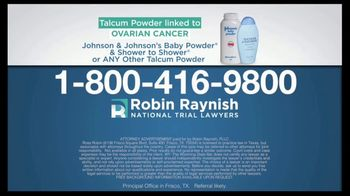 Robin Raynish Law TV Spot, 'Talcum Powder Products' - Thumbnail 5