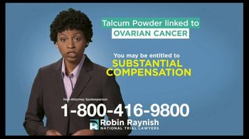 Robin Raynish Law TV Spot, 'Talcum Powder Products' - Thumbnail 4