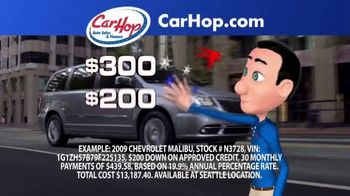 CarHop Auto Sales & Finance TV Spot, 'Credit Problems?'