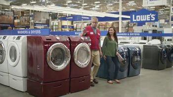 Lowe's TV Spot, 'Laundry Moment: 30 Percent' - Thumbnail 4