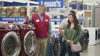 Lowe's TV Spot, 'Laundry Moment: 30 Percent' - Thumbnail 5