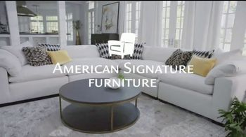 American Signature Furniture TV Spot, 'Special Financing'