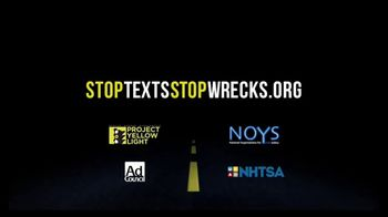 Stop the Texts, Stop the Wrecks TV Spot, 'Drive Distraction-Free' - Thumbnail 9