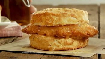 Hardee's Honey Butter Biscuits TV Spot, 'Real' - Thumbnail 9