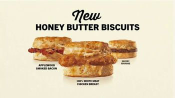 Hardee's Honey Butter Biscuits TV Spot, 'Real' - Thumbnail 7