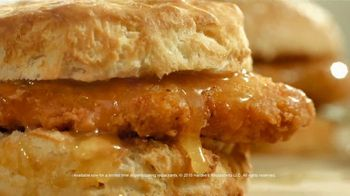 Hardee\'s Honey Butter Biscuits TV Spot, \'Real\'
