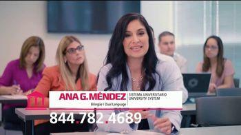 Sistema Universitario Ana G. Méndez TV Spot, 'Dos idiomas' [Spanish]