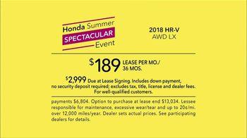 Honda Summer Spectacular Event TV Spot, 'Unfiltered' [T2] - Thumbnail 8