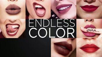 Merle Norman Cosmetics Plush Lipstick TV Spot, 'Endless Color'