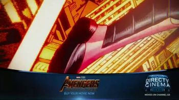 DIRECTV Cinema TV Spot, 'Marvel Avengers: Infinity War' - Thumbnail 1