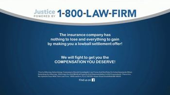 1-800-LAW-FIRM TV Spot, 'After an Auto Accident' - Thumbnail 7