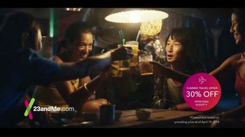 23andMe Summer Travel Offer TV Spot, 'Travel The World Based On Your DNA!'