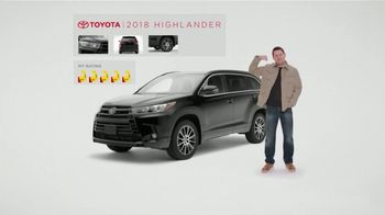 2018 Toyota Highlander TV Spot, 'Muscle Car' [T2]