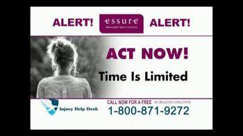 Injury Help Desk TV Spot, 'Essure Birth Control Implant'
