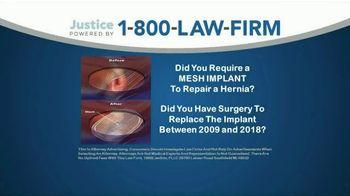 1-800-LAW-FIRM TV Spot, 'Failed Hernia Mesh Implant' - Thumbnail 1