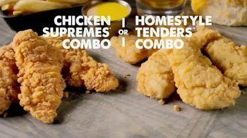 Bojangles' Chicken Supremes Combo TV Spot, 'Full of Flavor' - Thumbnail 8