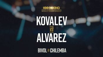 HBO Boxing TV Spot, 'Kovalev vs. Alvarez' - Thumbnail 9