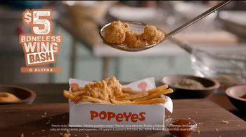 Popeyes $5 Boneless Wing Bash TV Spot, 'Fiesta' [Spanish] - Thumbnail 7