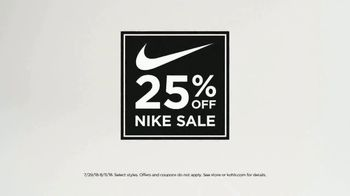 Kohl's 25 Percent Off Nike Sale TV Spot, 'For the Entire Family' - Thumbnail 3