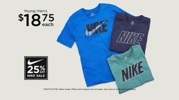 Kohl's 25 Percent Off Nike Sale TV Spot, 'For the Entire Family' - Thumbnail 7