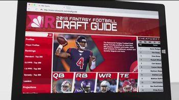 Rotoworld.com TV Spot, '2018 Fantasy Football Draft Guide' - Thumbnail 3