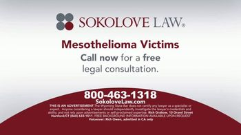 Sokolove Law TV Spot, 'Mesothelioma: Asbestos Victims'