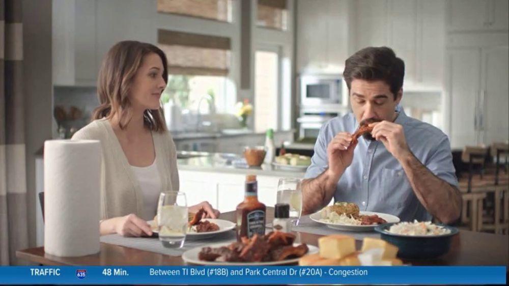 kroger paper towels tv commercial ribs ispot tv