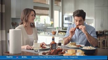Kroger Paper Towels TV Spot, 'Ribs'