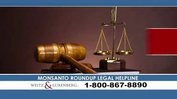Weitz and Luxenberg TV Spot, 'Legal Alert: Roundup Weed Killer' - Thumbnail 1