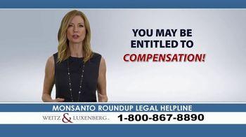 Weitz and Luxenberg TV Spot, 'Legal Alert: Roundup Weed Killer' - Thumbnail 7