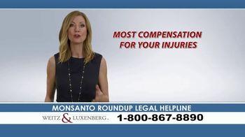 Weitz and Luxenberg TV Spot, 'Legal Alert: Roundup Weed Killer' - Thumbnail 8