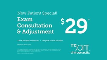 The Joint Chiropractic New Patient Special TV Spot, 'Life Moves: $29' - Thumbnail 9
