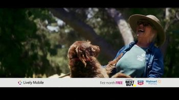 GreatCall Lively Mobile TV Spot, 'Mom Volunteer: First Month Free' - 1 commercial airings
