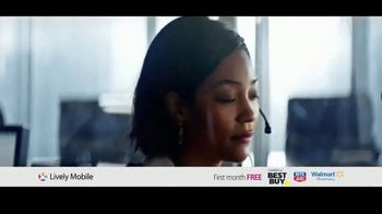 GreatCall Lively Mobile TV Spot, 'Mom Volunteer: First Month Free' - Thumbnail 8