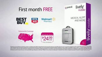 GreatCall Lively Mobile TV Spot, 'Mom Volunteer: First Month Free' - Thumbnail 9