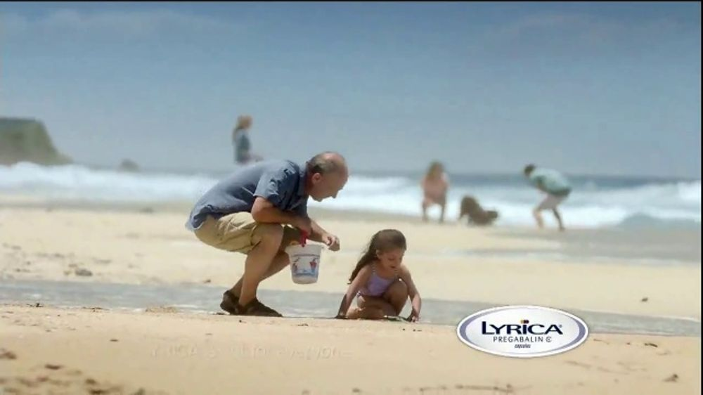 Lyrica TV Commercial, 'Beach Day'