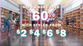 Old Navy Kids & Baby Sale TV Spot, 'Back to School' Song by Junior Senior - Thumbnail 9
