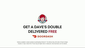 Wendy's Dave's Double TV Spot, 'Delivered for Free' - Thumbnail 10