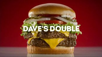 Wendy's Dave's Double TV Spot, 'Delivered for Free'
