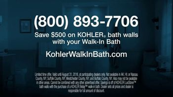 Kohler Walk-In Bath TV Spot, 'Calling on Ken: Bath Walls' - Thumbnail 10