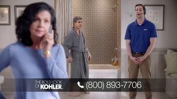 Kohler Walk-In Bath TV Spot, 'Calling on Ken: Bath Walls'