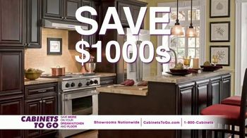 Cabinets To Go Buy One, Get One Free TV Spot, 'Free Cabinet: August' - Thumbnail 4