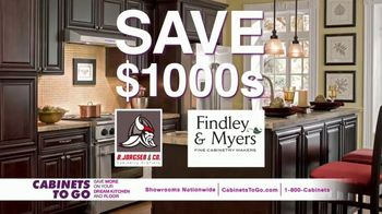Cabinets To Go Buy One, Get One Free TV Spot, 'Free Cabinet: August' - Thumbnail 5