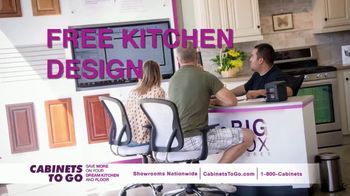 Cabinets To Go Buy One, Get One Free TV Spot, 'Free Cabinet: August' - Thumbnail 7
