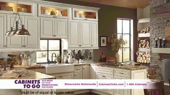 Cabinets To Go Buy One, Get One Free TV Spot, 'Free Cabinet: August' - 151 commercial airings