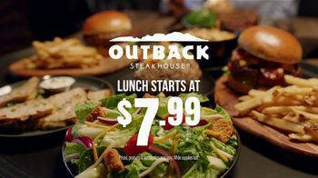 Outback Steakhouse Steak & Lobster TV Spot, 'Popular Demand: Lunch Combos' - Thumbnail 8