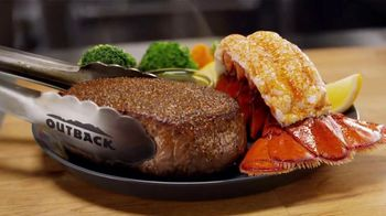 Outback Steakhouse Steak & Lobster TV Spot, 'Popular Demand: Lunch Combos' - Thumbnail 3